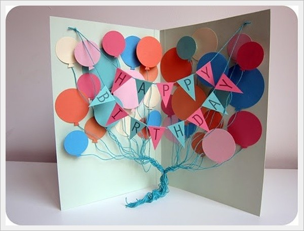 37 Homemade Birthday Card Ideas and Images Good Morning Quote – Birthday Cards Hand Made