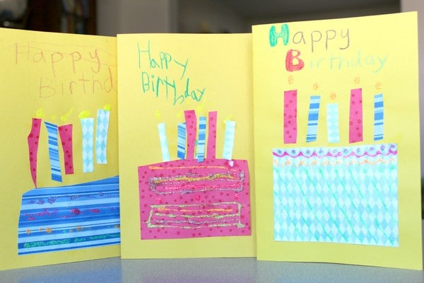 Cute Birthday Card Ideas For Kids
