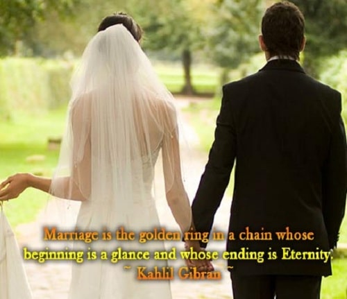 Cute Happy Marriage Quotes