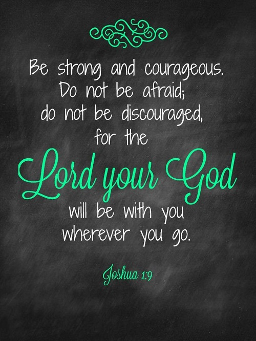 Do not be Afraid Bible Quotes
