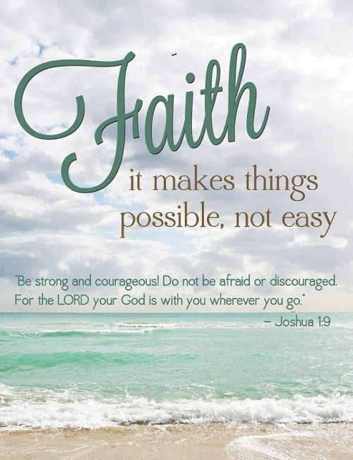 Faith Makes Things Possible Bible Quotes