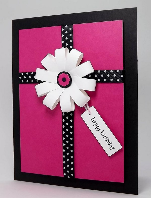 37 Homemade Birthday Card Ideas and Images Good Morning Quote – Handmade Cards Ideas Birthday