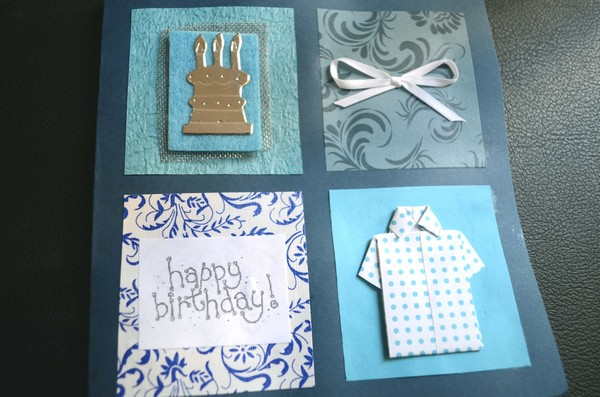 37 Homemade Birthday Card Ideas and Images Good Morning Quote – Handmade Birthday Card Design