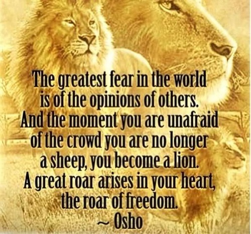 Inspirational Osho Quotes About Fear