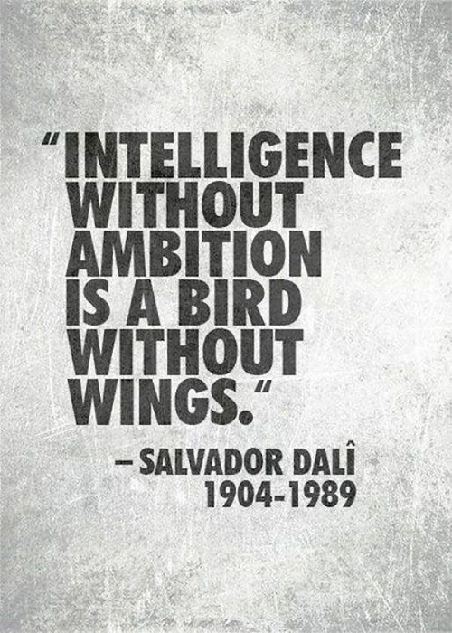 Intelligence without Ambition Graduation Quotes