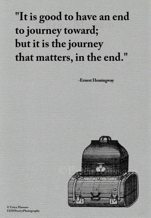 Journey that Matters Graduation Quotes