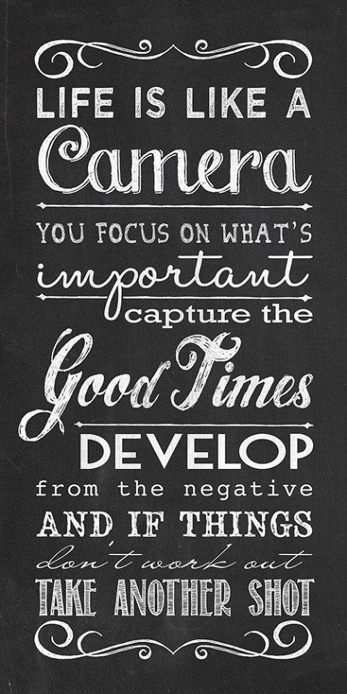 Life Like Camera Amazing Quotes