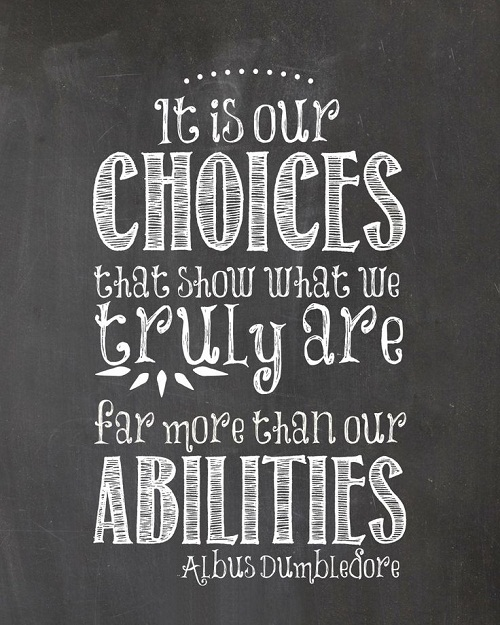 More than our Abilities Graduation Quotes