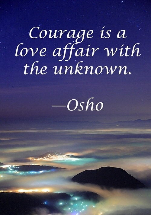 Osho Quotes About Courage