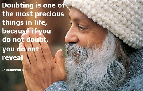 Osho Quotes About Doubt