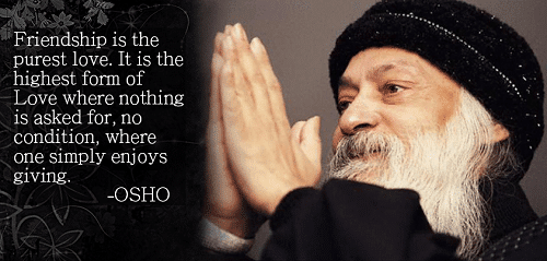 Osho Quotes on Friendship