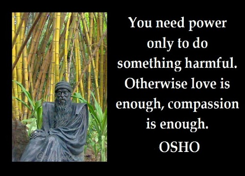 Osho Quotes on Power