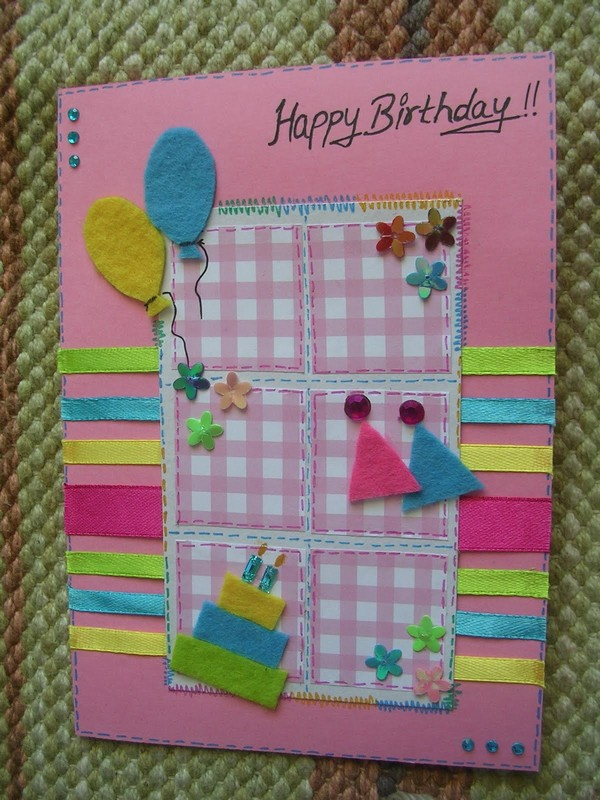 Simple Birthday Card Ideas For Girls