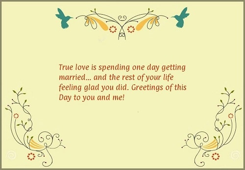 Sweet Marriage Quotes. 5. True love is spending one day getting married and  the rest of your life feeling glad you did.