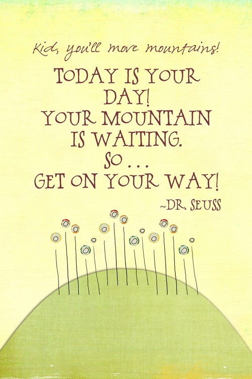 Waiting Mountain Graduation Quotes