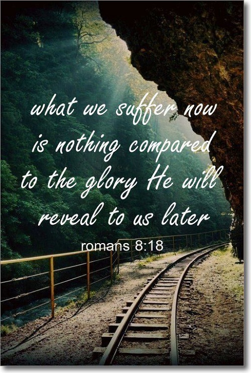 What we Suffer now Bible Quotes