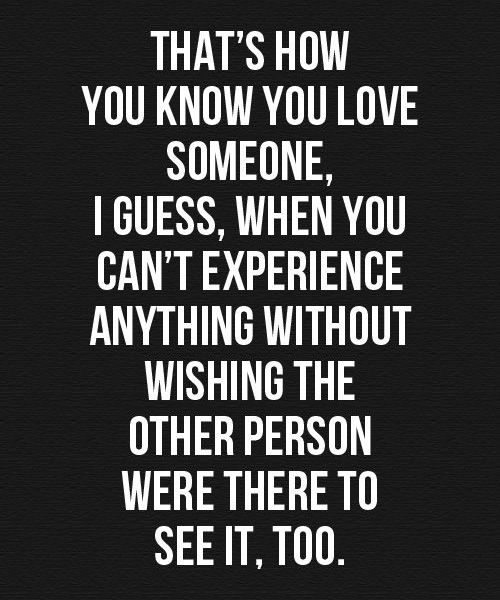 Wishing the Other Person Amazing Quotes