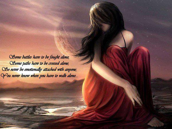Alone Love Quotes