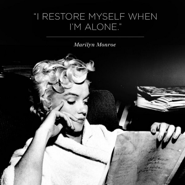Ordinaire I Restore Myself When Iu0027m Alone. Alone Sayings Images