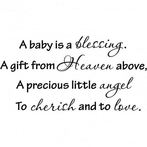Blessing Baby Quotes