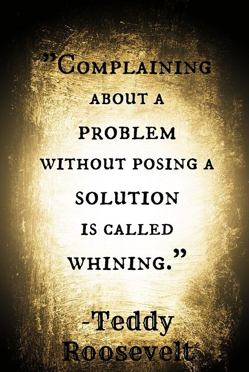 Complaining Struggle Quotes