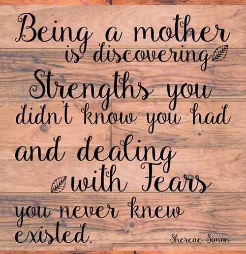 Discovering Strength Mother Quotes