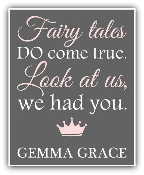 Fairy Tales Baby Quotes
