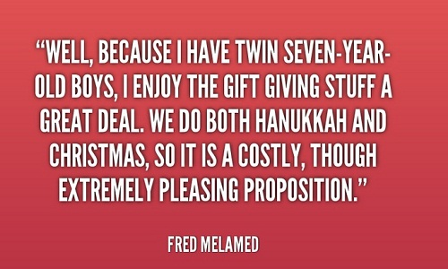 Fred Melamed Twin Quotes
