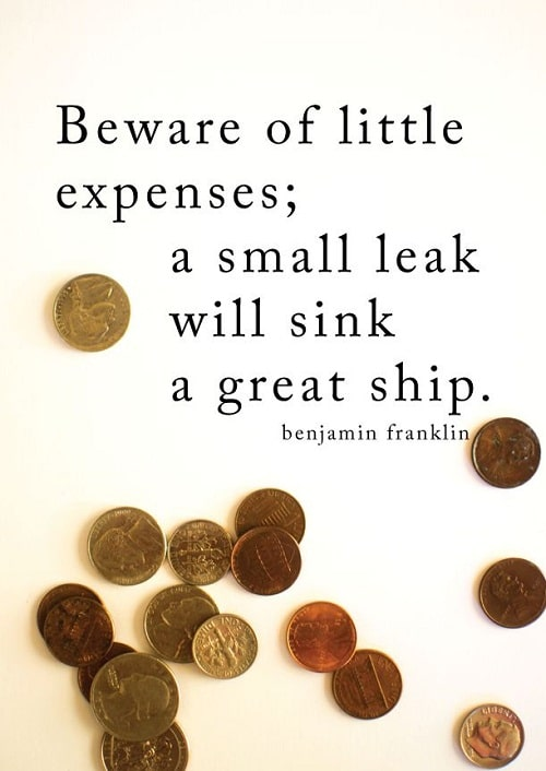Little Expenses Struggle Quotes