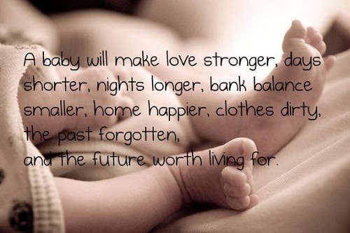 Love Stronger Baby Quotes