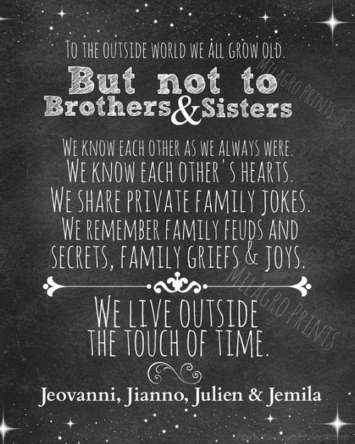 Outside World Brother Quotes