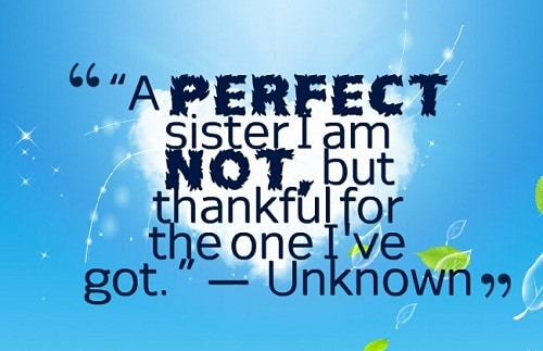 Perfect Sister Quotes