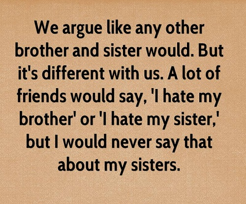 Sibling Argument Brother Quotes