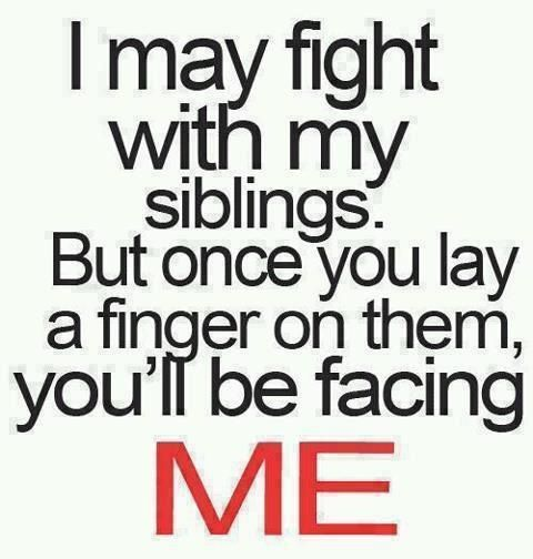 Sibling Fight Brother Quotes