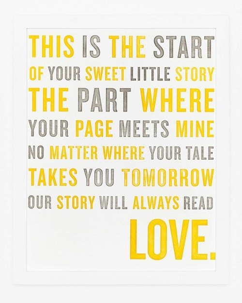 Sweet Little Story Baby Quotes