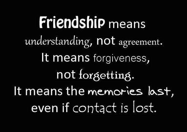 True Friends Poem
