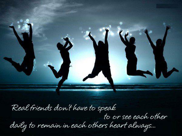 True Friends Sayings
