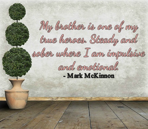 True Heroes Brother Quotes