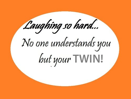 21 funny twin quotes and sayings with images good