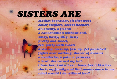 Funny Sister Quotes Sayings Good