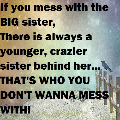 Younger Crazier Sister Quotes