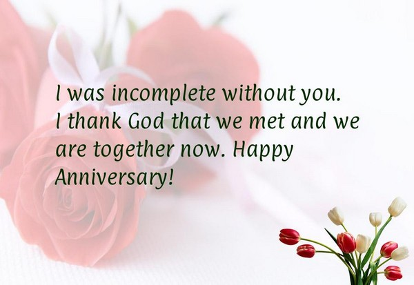 Anniversary Quotes For Girlfriend : Anniversary quotes for him and her with images good