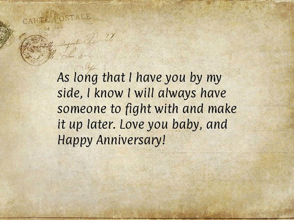 Anniversary quotes for him and her with images good morning