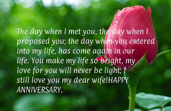 Anniversary Sayings For Girlfriend