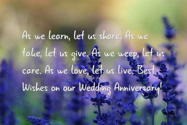 Anniversary Sayings For Parents