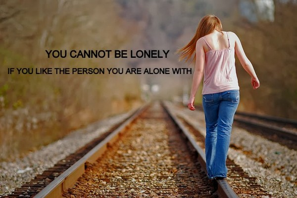 Quotes On Being All Alone By Yourself