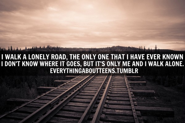 Quotes On Being Alone