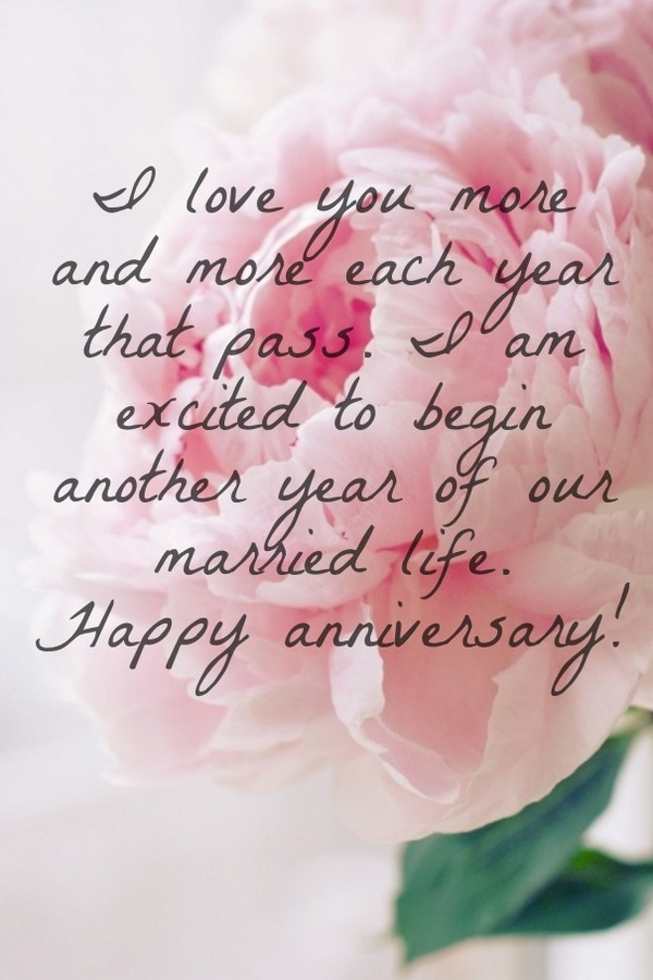 Wedding Anniversary Quotes For Him From The Heart