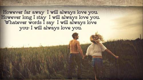 Always Love You Love Quotes for Her