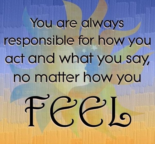 Always Responsible Lovely Quotes